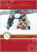 Holiday Cards - holiday monogram