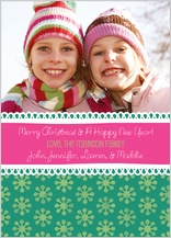 Christmas Cards - fun flakes