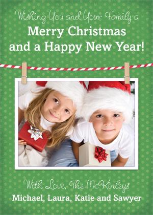 Christmas Cards - Christmas Twine