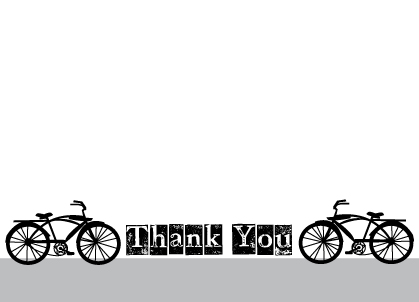Thank You - Bicycle
