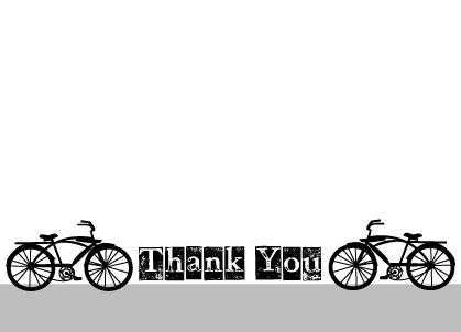 Thank You - Bicycle