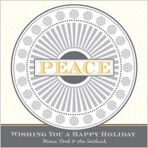 Holiday Cards - peace mandala