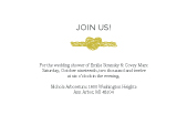 Wedding Shower Invitation - Tying The Knot