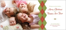 Christmas Cards - argyle
