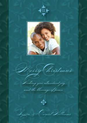 Christmas Cards - Christmas Fleur-de-lis