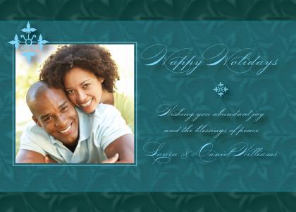 Holiday Cards - Christmas Fleur-de-lis