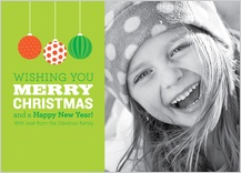 Christmas Cards - ornaments