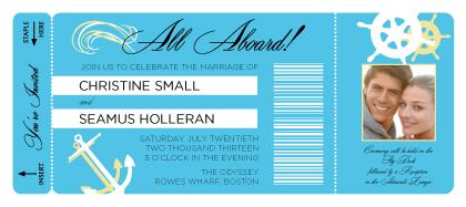 Wedding Invitation - All Aboard