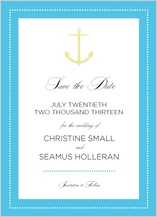 Save the Date Card - all aboard