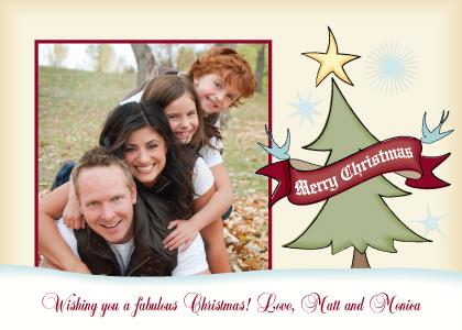 Christmas Cards - Jolly Christmas Tree