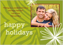 Christmas Cards - wild holidays