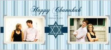 Hanukkah Cards - scrapbook chanukah